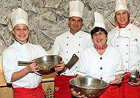 kulinarischen Köstlichkeiten für unsere Gäste