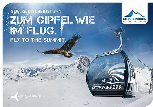 Neu: Gletscherjet