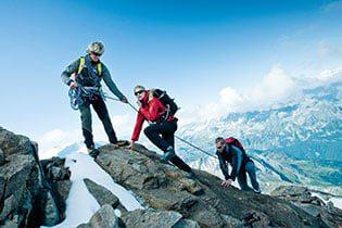 Bergsteigen im Sommer in Zell am See - Verwöhnhotel Vötter's Sportkristall