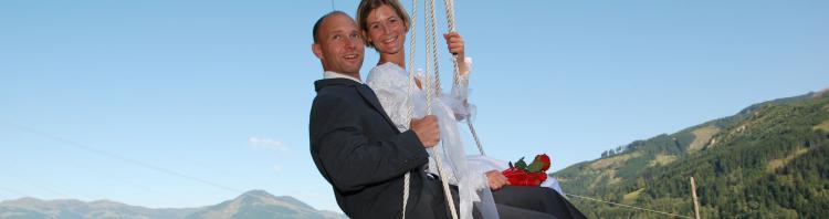 Hochzeit feiern im Sportkristall Vötter in Kaprun