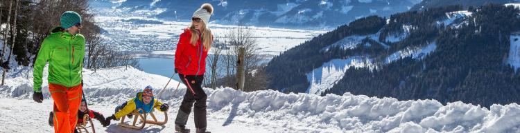Winteraktivitäten in Kaprun im Sportkristall Vötter