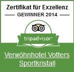Zertifikat für Exzellenz - 2014