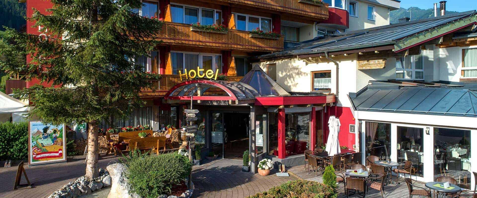 voetters hotel  sterne urlaub kaprun